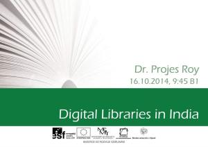 Digital Libraries in India