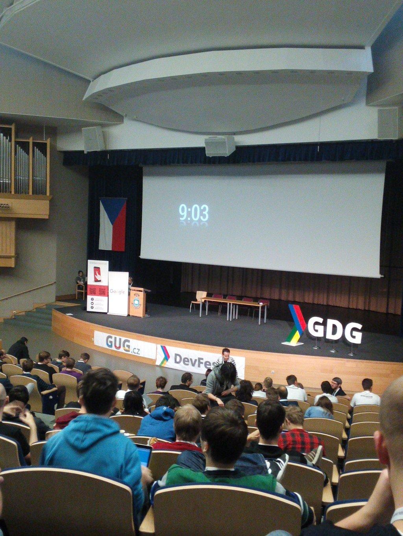 DevFest 2015 v Ostravě by @studuj_infoveda